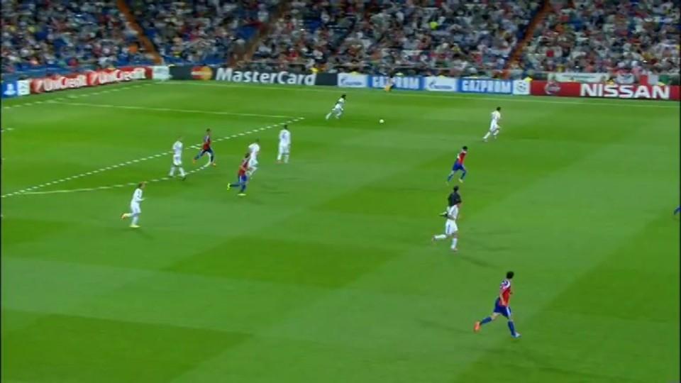 Sestřih zápasu - Real Madrid vs FC Basilej (16.9.2014)