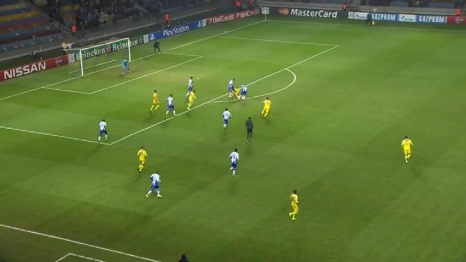 Sestřih zápasu - BATE v Porto (25.11.2014)