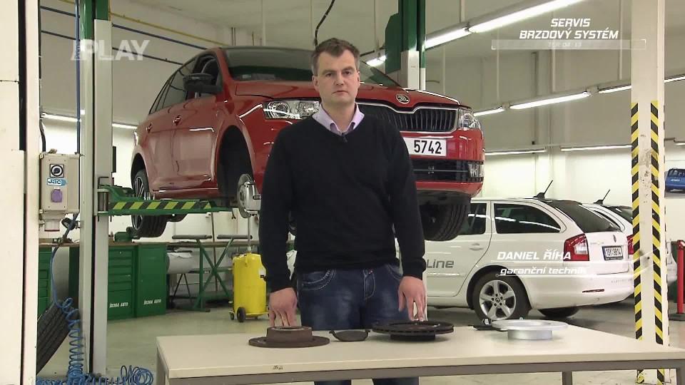 Preventivní servis automobilu - brzdový systém