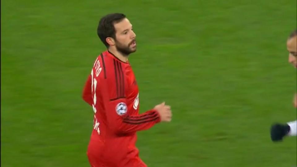 Sestřih zápasu - Leverkusen v Monaco (26.11.2014)