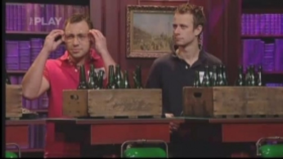 Pekelná výzva (4) - Scéna s lahvemi