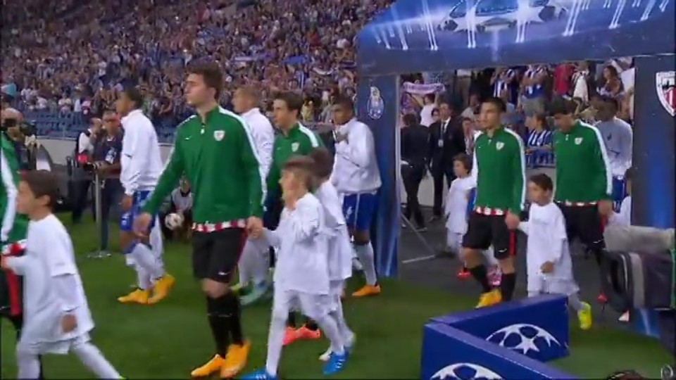 Sestřih zápasu - Porto v Athletic (21.10.2014)