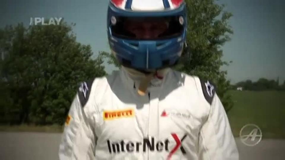 Blondýna vs Jezdec F1