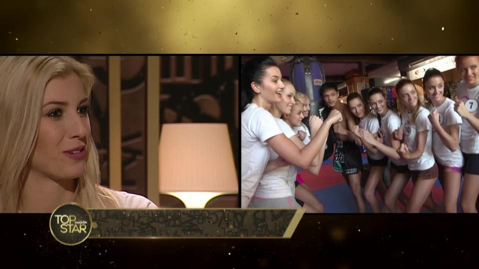 TOP STAR Magazín 2016 (10) - Miss ve studiu (8. Michaela Hávová, 9. Vendula Neumanová, 10. Dominika Košťálová) - 1 část