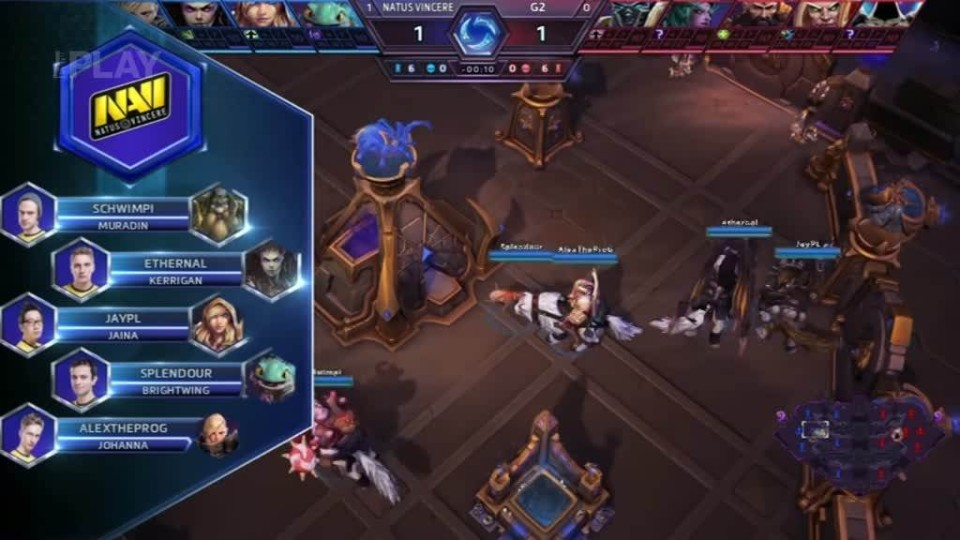 Road to BlizzCon 2015 - Sobota - Heroes of the Storm #2