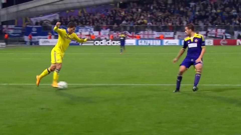 Penalty miss - E. Hazard 85 (5.11.2014)